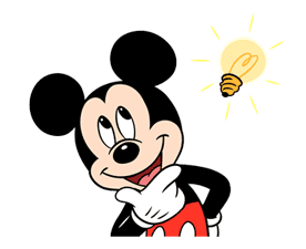 Mickey Mouse in Motion sticker #10467639