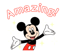Mickey Mouse in Motion sticker #10467640
