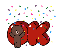 Brown and Cony Fun Size Pack sticker #11088016