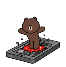 Brown and Cony Fun Size Pack sticker #11088017