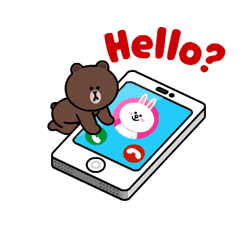 Brown and Cony Fun Size Pack sticker #11088021