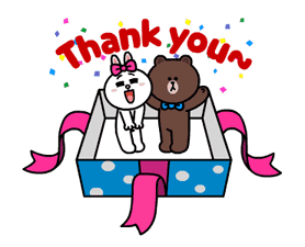 Brown and Cony Fun Size Pack sticker #11088024