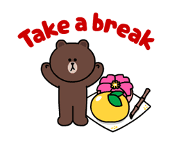 Brown and Cony Fun Size Pack sticker #11088026