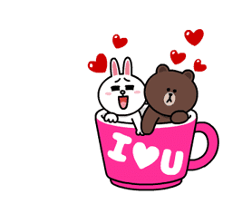 Brown and Cony Fun Size Pack sticker #11088030