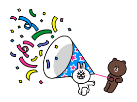 Brown and Cony Fun Size Pack sticker #11088036
