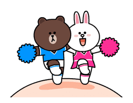 Brown and Cony Fun Size Pack sticker #11088038