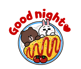 Brown and Cony Fun Size Pack sticker #11088039