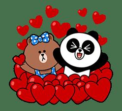 CHOCO & Pangyo's Love Punch sticker #12623014