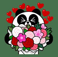 CHOCO & Pangyo's Love Punch sticker #12623016