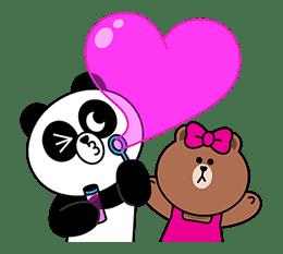 CHOCO & Pangyo's Love Punch sticker #12623019