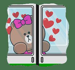 CHOCO & Pangyo's Love Punch sticker #12623020