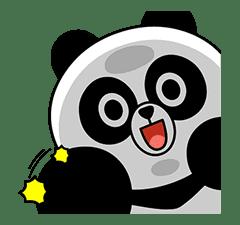 CHOCO & Pangyo's Love Punch sticker #12623021