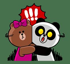 CHOCO & Pangyo's Love Punch sticker #12623023