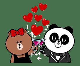 CHOCO & Pangyo's Love Punch sticker #12623026