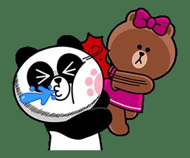 CHOCO & Pangyo's Love Punch sticker #12623027