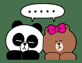 CHOCO & Pangyo's Love Punch sticker #12623028