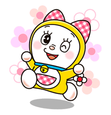 Doraemon & Dorami sticker #14640