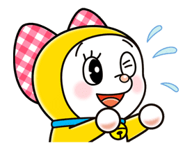 Doraemon & Dorami sticker #14645