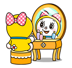 Doraemon & Dorami sticker #14649