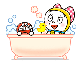 Doraemon & Dorami sticker #14654