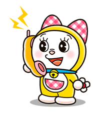 Doraemon & Dorami sticker #14656