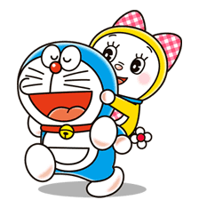 Doraemon & Dorami sticker #14657