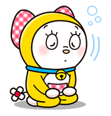 Doraemon & Dorami sticker #14661