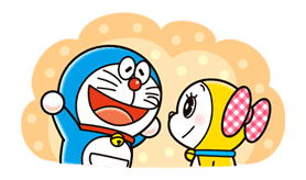 Doraemon & Dorami sticker #14670