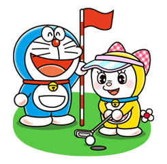 Doraemon & Dorami sticker #14674