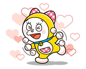 Doraemon & Dorami sticker #14675