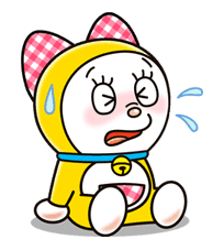 Doraemon & Dorami sticker #14678