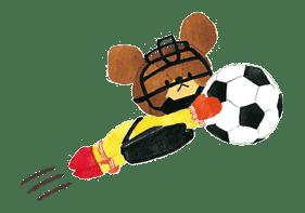 the bears' school sticker #14896