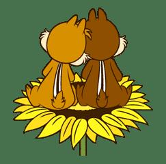 Chip 'n' Dale sticker #15161