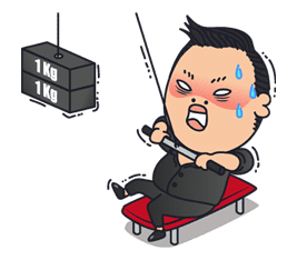 PSY 2nd SPECIAL EDITION sticker #15800