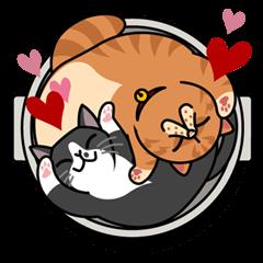 猫のプライベート・第3弾 | StampDB - LINEスタンプランキング