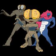 สติ๊กเกอร์ไลน์ Humanoid Monster Bem