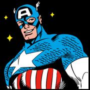สติ๊กเกอร์ไลน์ MARVEL Heroes