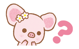 Piggy girl sticker #25213