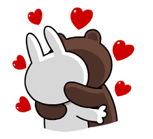 LINE Characters: All the Love sticker #78191