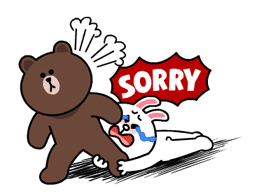 Brown & Cony's Thrilling Date sticker #257154