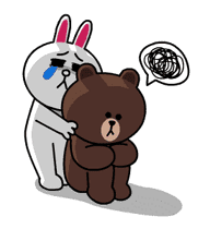 Brown & Cony's Thrilling Date sticker #257155