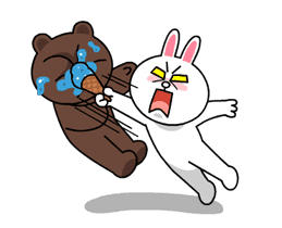 Brown & Cony's Thrilling Date sticker #257159
