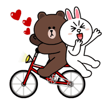 Brown & Cony's Thrilling Date sticker #257163
