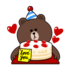 Brown & Cony's Thrilling Date sticker #257166