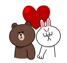 Brown & Cony's Thrilling Date sticker #257170