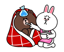 Brown & Cony's Snug Winter Date sticker #2923376