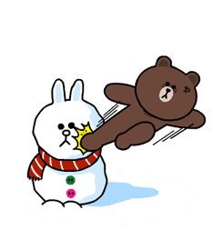 Brown & Cony's Snug Winter Date sticker #2923392