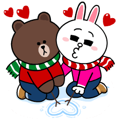 Brown & Cony's Snug Winter Date