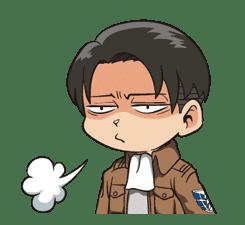 Attack on Titan Animated Stickers sticker #3190311