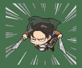 Attack on Titan Animated Stickers sticker #3190314